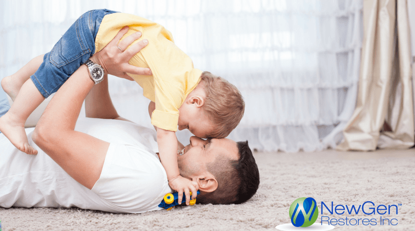 Carpet cleaning can improve the appearance of your home and extend the life of your carpet, but perhaps the most valuable benefit from the process is improving you and your family's health.